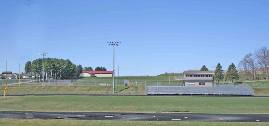 athletic field - April 2010